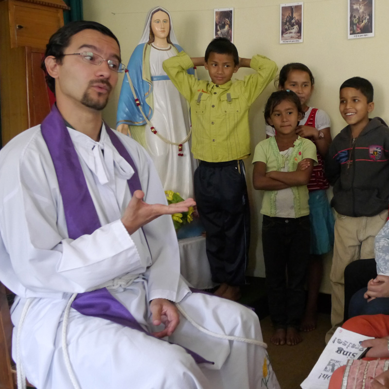 Maryknoll Vocations testimonial video from Missioner and Priest, Rodrigo Ulloa-Chavarry